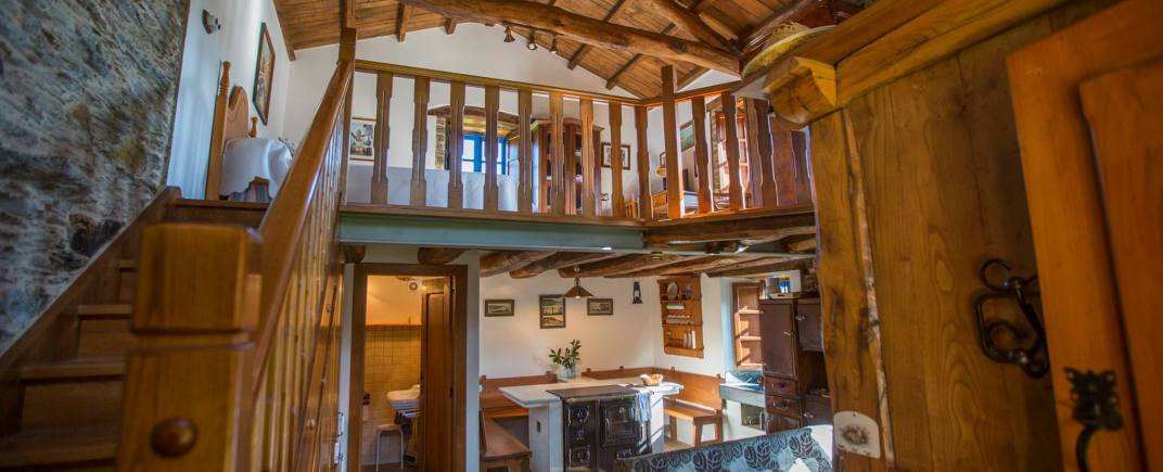 Interiores de la Vivienda Turística Casa Quitapenas de Turismo Rural