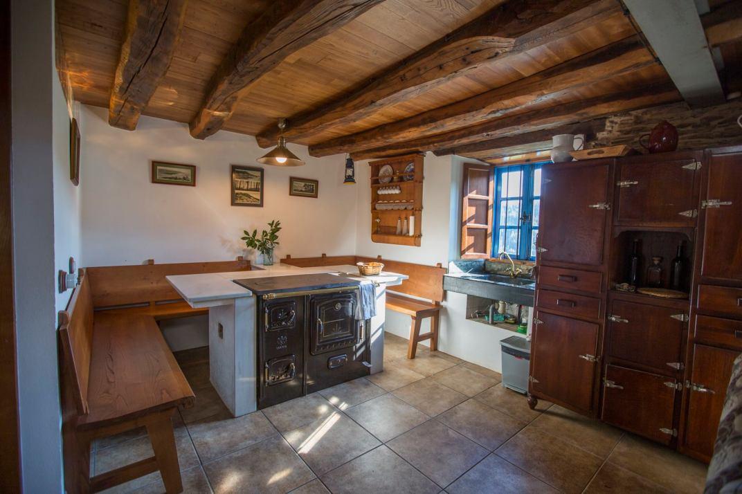 Cocina de la Vivienda Turística Casa Quitapenas de Turismo Rural